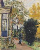Max Slevogt - Gärtner vor dem Haus