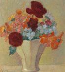Jawlensky, Alexej von - Grosses Stillleben: Helles Bouquet