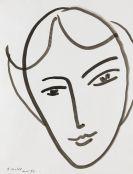 Matisse, Henri - Tête de jeune Fille
