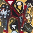 A. R. Penck (d.i. Ralf Winkler) - Aus: Irak Serie (Tu 2)