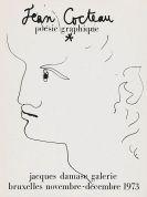 Jean Cocteau - Poésie graphique. 1973