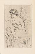 Pierre-Auguste Renoir - Baigneuse debout, a mi-jambes
