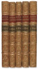 Salomon Gessner - Schriften, 5 Bände