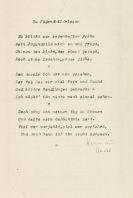 Hermann Hesse - 4 Gedichttyposkripte