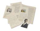 Hermann Hesse - 14 Briefe. Dabei: Fotos, Briefe und Zeitungsausschnitte