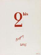 (d. i. Wolfgang Schulze) Wols - 2 bis, mit je einer Orig-Radierung von Wols und Bryen