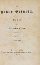 Keller, Gottfried - Der grüne Heinrich