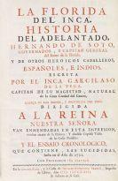 Garcilaso de la Vega - La Florida del Inca