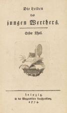 Goethe, Johann Wolfgang von - Die Leiden des jungen Werther