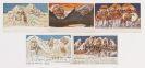 Emil Nolde - Bergpostkarten. Nr. 1-5