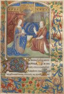 Manuskripte - Stundenbuch. Rouen um 1500