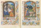 Manuskripte - 2 Miniaturen, Frankreich 15. Jh.