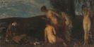Carl von Marr - Die Versuchung des Heiligen Antonius