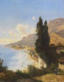 Zimmermann, Albert August - Partie von Monaco bei Nizza