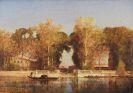 Félix Ziem - Die französischen Gärten in Venedig