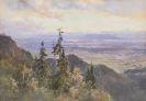 Edward Theodore Compton - An der Benediktenwand (Blick auf Murnau und den Staffelsee?)