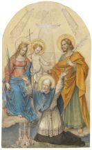Schnorr von Carolsfeld, Ludwig Ferdinand - Clemens Maria Hofbauer und Heilige