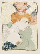Henri de Toulouse-Lautrec - Mademoiselle Marcelle Lender, en buste