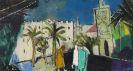 Franz Xaver Fuhr - Arabisches Straßenbild