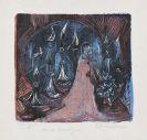 Ernst Ludwig Kirchner - Der Mann mit dem zweischneidigen Schwert. - Vision der sieben Leuchter