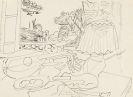 Gino Severini - Composition (Studie für das Gemälde