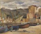 André Lhote - Collioure, un jour d'orage
