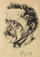 Ludwig Meidner - Porträt