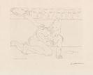 Picasso, Pablo - Minotaure mourant et juene femme pitoyable