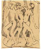 Ernst Ludwig Kirchner - Tanz zwischen den Frauen