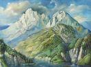 Rudolf Schlichter - Berglandschaft