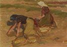Jozsef Klein - Bäuerinnen bei der Ernte
