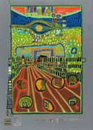 Friedensreich Hundertwasser - Regentag (Look at it on a rainy day)