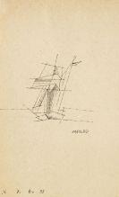 Lyonel Feininger - Ohne Titel (Segelschiff)