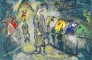 Marc Chagall - Blatt 19 aus: Le Cirque
