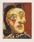 Pablo Picasso - Tête de femme No 4. Portrait de Dora Maar