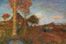 Otto Modersohn - Herbstliche Abendsonne im Moor