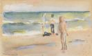 Liebermann, Max - Badende am Strand