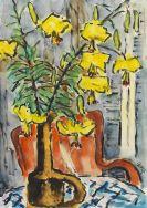 Karl Schmidt-Rottluff - Gelbe Lilien