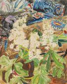 Erich Heckel - Kastanienblüten
