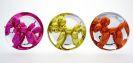 Koons, Jeff - Balloon Dogs - Yellow, Magenta, Orange