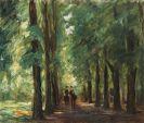 Max Liebermann - Zwei Reiter in der Allee bei Sakrow