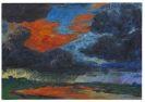 Emil Nolde - Herbstwolken, Friesland