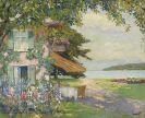 Cucuel, Edward - Die Villa des Künstlers am Starnberger See (Das Sommerhaus)