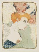 Toulouse-Lautrec, Henri de - Mademoiselle Marcelle Lender, en buste
