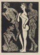 Ernst Ludwig Kirchner - Die Frau und die Männer