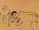 Ernst Ludwig Kirchner - Drei Personen